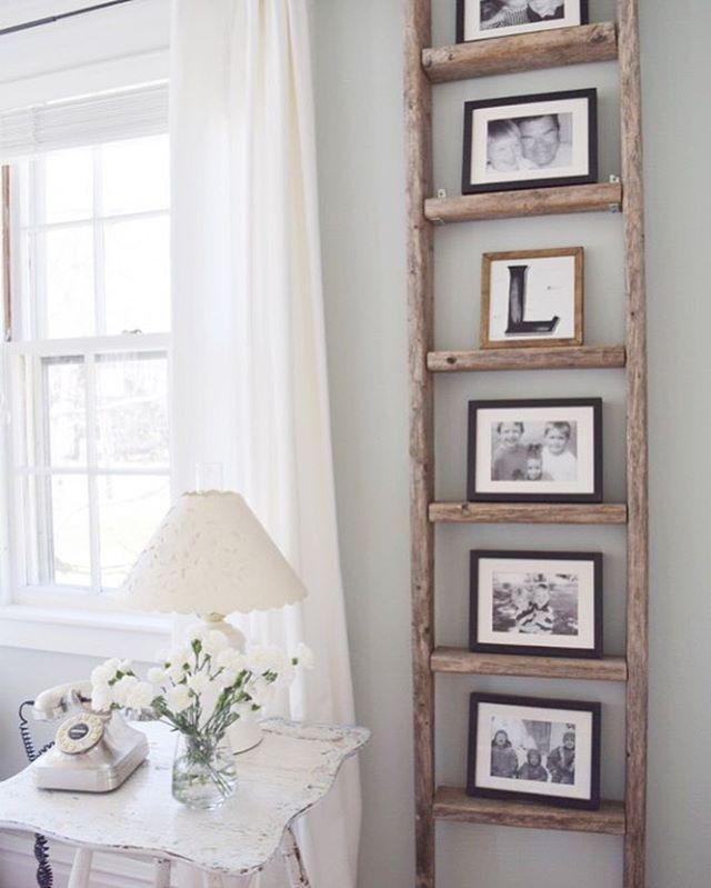 Ladder Decor On Wall : Best ladder shelf decor ideas on