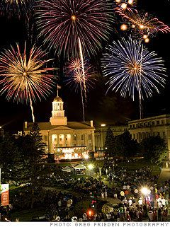 The place I was born.  Iowa City, Iowa.