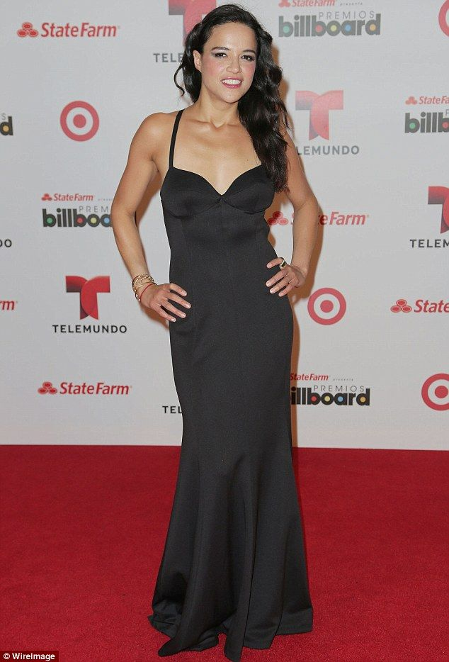 Michelle Rodriguez at The 2013 Billboard Latin Music Awards