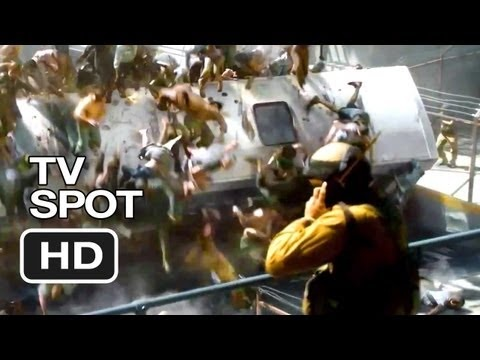 World War Z TV SPOT - Aggressive (2013) - Brad Pitt Movie HD