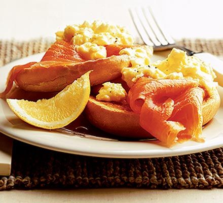 Smoked Salmon & Lemon scrambled Eggs  Use Bill Granger's recipe to turn simple scrambled egg into a luxurious breakfast or brunch