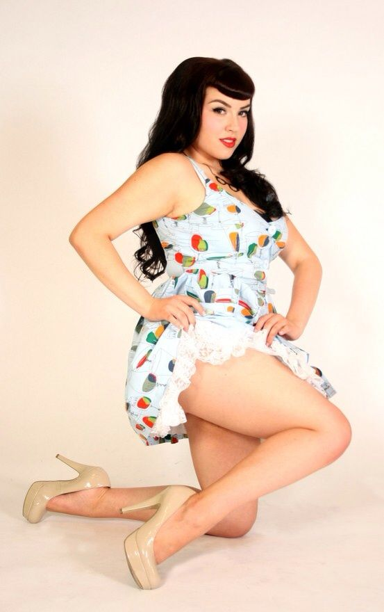 Bbw pinup naked, britny naked pictures
