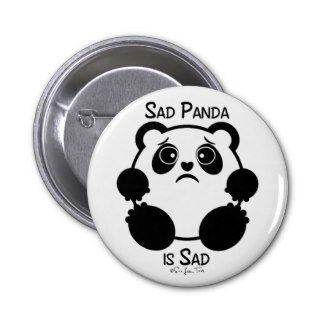 Sad Panda Buttons