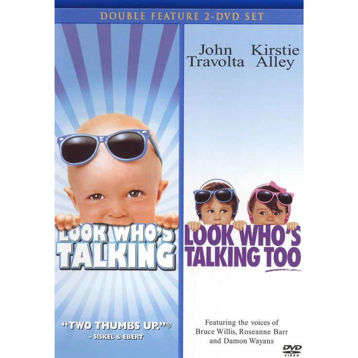 Look Who's Talking/Look Who's Talking Too [2 Discs]