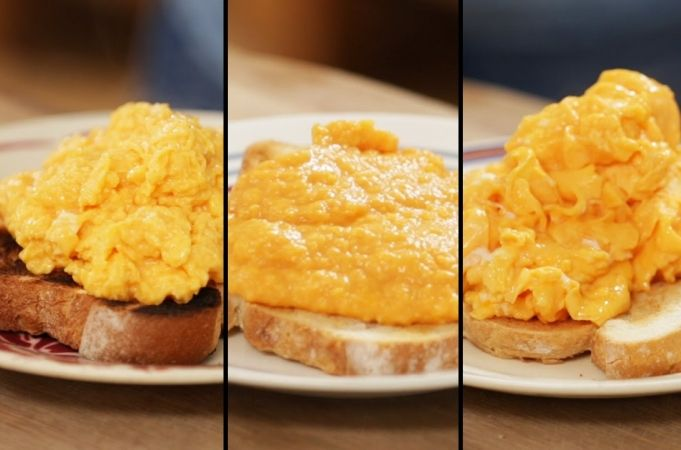 How To Make Perfect Scrambled Eggs - 3 ways