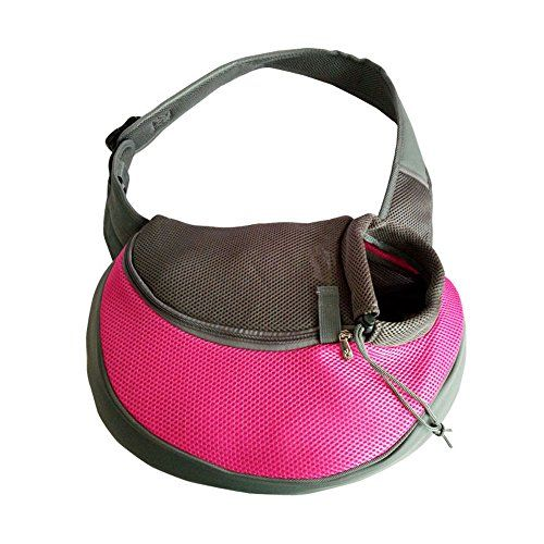bfb4a55988bf YUDODO Pink Pet Carrier, Soft Mesh Chihuahua Carrier Small Dog Cat ...