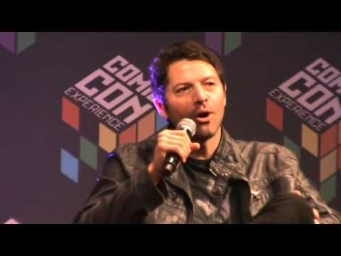 Painel - Misha Collins, Comic Con Experience.