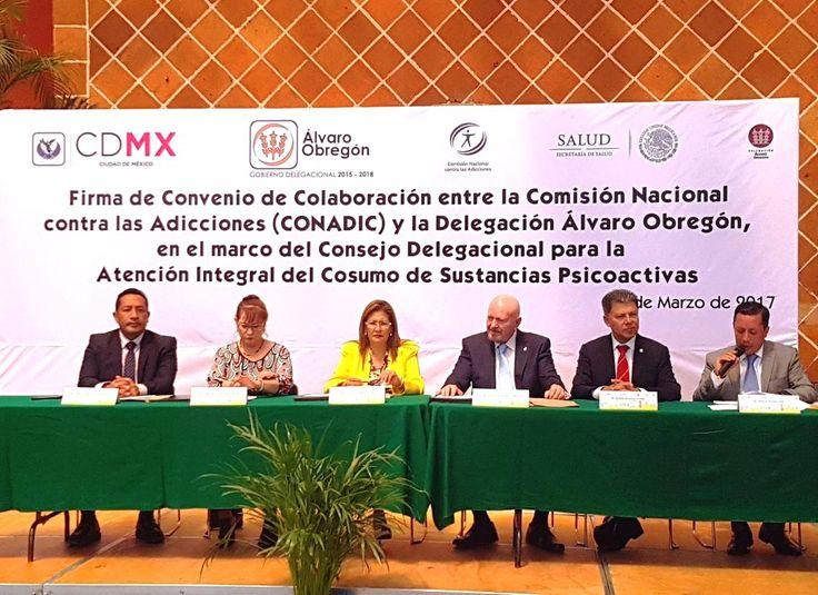 CONADIC firmaron un convenio de colaboración con la delegación Álvaro Obregón - http://plenilunia.com/prevencion/conadic-firmaron-un-convenio-de-colaboracion-con-la-delegacion-alvaro-obregon/44322/
