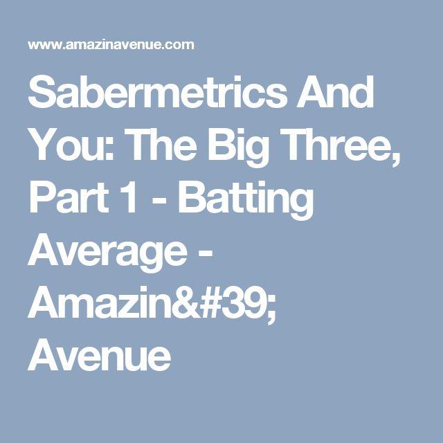 Sabermetrics And You: The Big Three, Part 1 - Batting Average - Amazin' Avenue