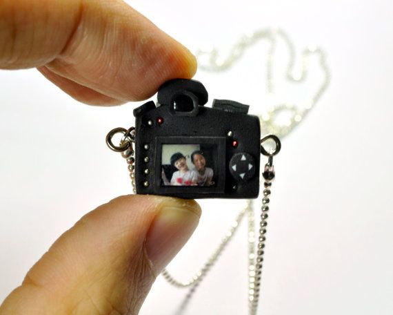 Personalized Nikon D7000 Camera miniature by JnPol on Etsy