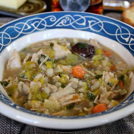 cock a leekie soup | Recipe Files | Pinterest