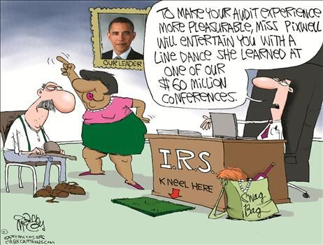 The IRS is a joke, so here is a joke about the IRS...