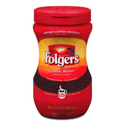 Classic Roast Instant Coffee – Folgers Coffee