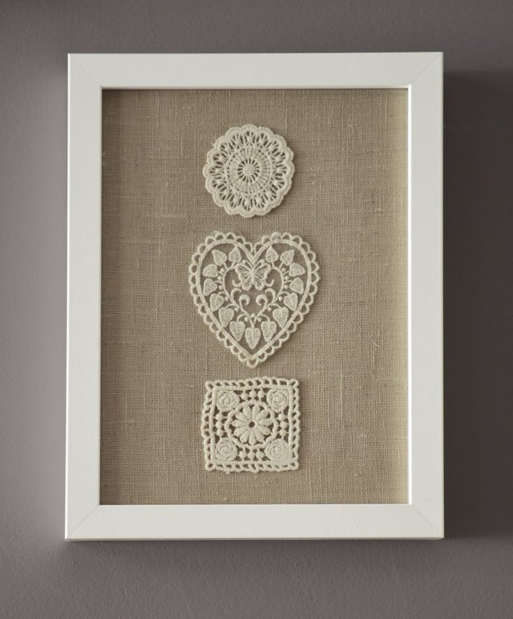for trailer … Beautiful DIY Handmade Framed Burlap with Floral-Embroidery Wall …