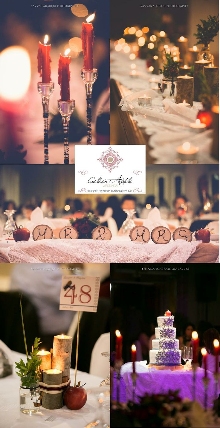 #Apple  #Cinnamon - #Winter #Theme #Wedding design by #GoldenAppleWeddings in #Rhodes #Greece #savvasargirou wedding #photography