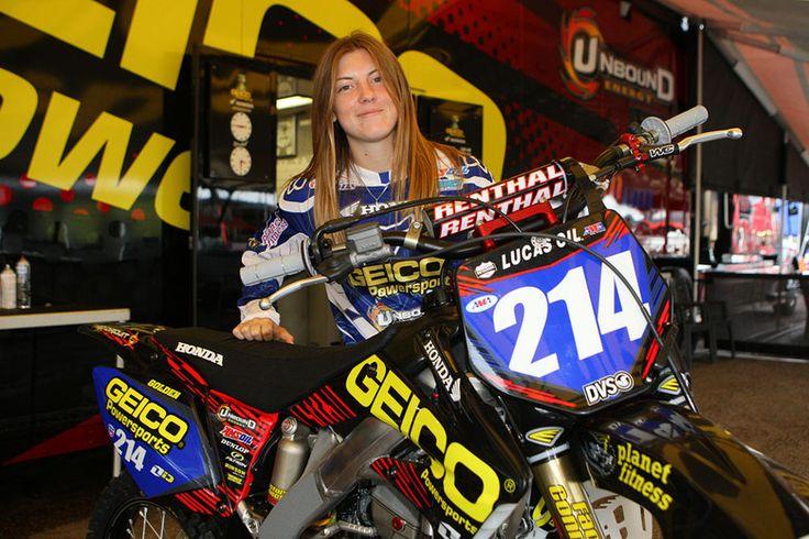 Motocross Racer Vicki Golden Becomes First Woman Racer to Earn Supercross License