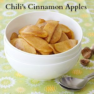 Chili's Cinnamon Apples - Cookalike Recipe