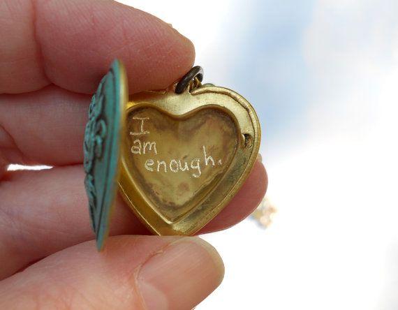 I am enough. : Heart, Inspiration, Quotes, Truth, Iamenough, I Am Enough