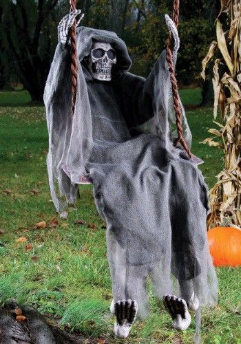 Aww, who would have thunk it? The Grim Reaper, Death himself, actually prefers to unwind after a long day by hanging out at the park. Add this decor piece to your yard for some frightful fun. He's sure to give the neighborhood children quite the scare while simultaneously securing your spot in the scary yard hall of fame! #Halloween #Decorate #GrimReaper [Affiliate]