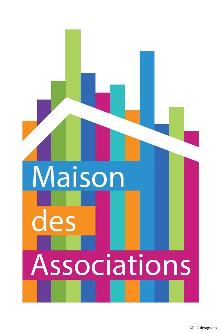 Up ! · A4 Designers · fresque et identité graphique pour la Maison des Associations de Dijon