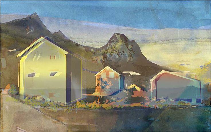Beautiful art from the norwegian contemporary artist Kai Mørk Mortensen. To see the whole collection and order, go to http://artbyhand.no/butikk/billedkunst/kai-mork-mortensen