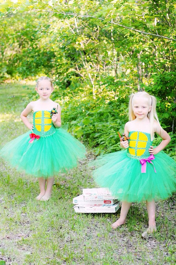 Teenage Mutant Ninja Turtles inspired by PrincessEmmaCouture, $49.99... This is possibly the best thing I have ever seen!