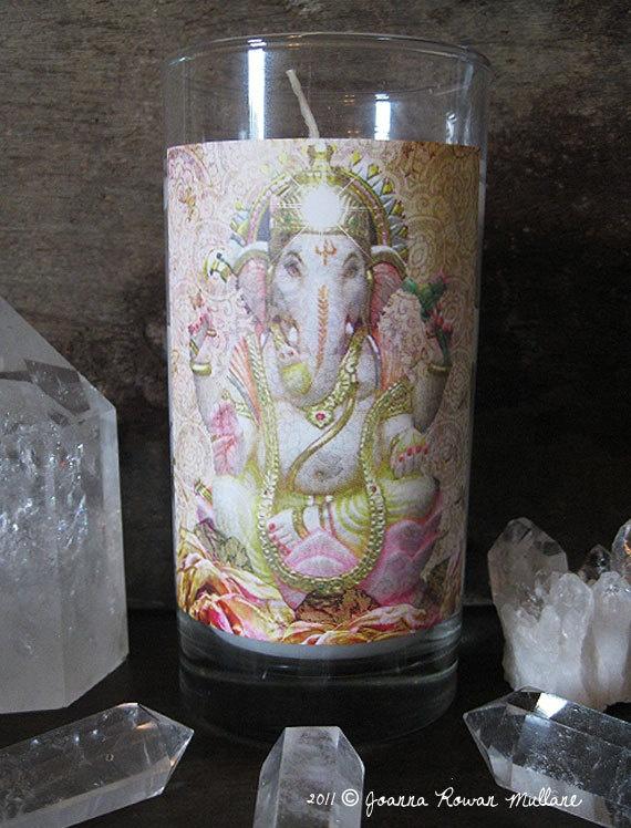 Ganesh Reiki Empowered Spiritual Altar by earthandskyspirit, $16.95