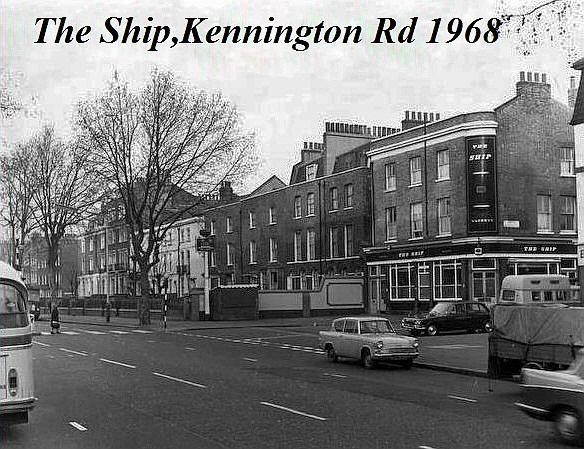 The Ship, 171 Kennington Road SE11 - in 1968