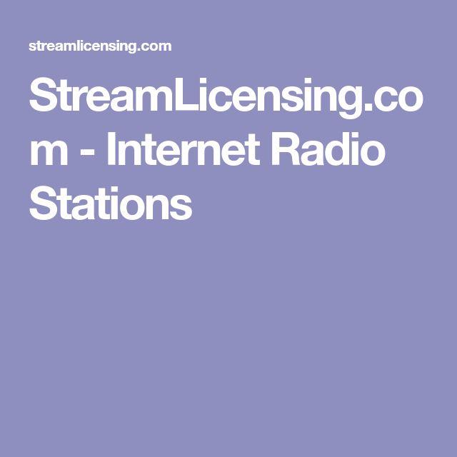 StreamLicensing.com - Internet Radio Stations