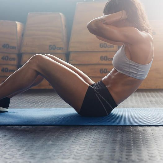 Stay healthy and see how you can make small changes every day for flatter abs.