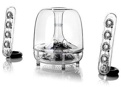 NEW Harman Kardon Soundsticks III Wireless Bluetooth Computer Speaker LED,Freesh