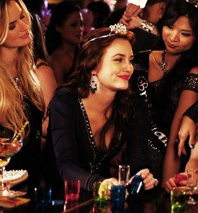 Live every day like you're Blair Waldorf