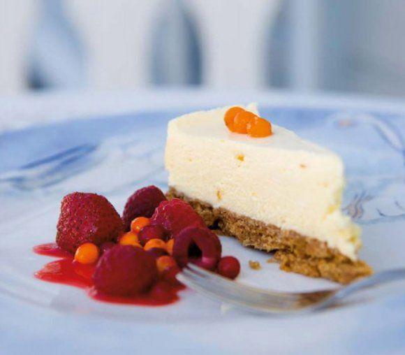 Vit chokladcheesecake | Recept.se