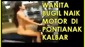 telanjan naik motor - YouTube