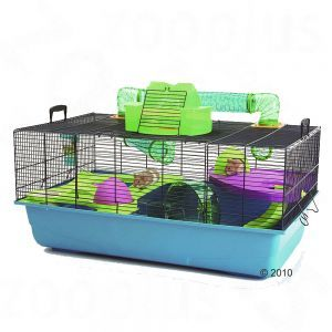 Hamster Heaven cage - the best cage for a syrian hamster on the market!