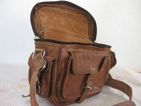 Steampunk Padded Leather Camera Bag DSLR by ...