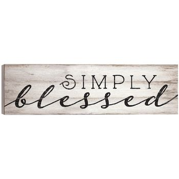 Simply Blessed Wall Decor Kohls In 2021 Frame Wall Decor Pallet Wall Decor Pallet Diy