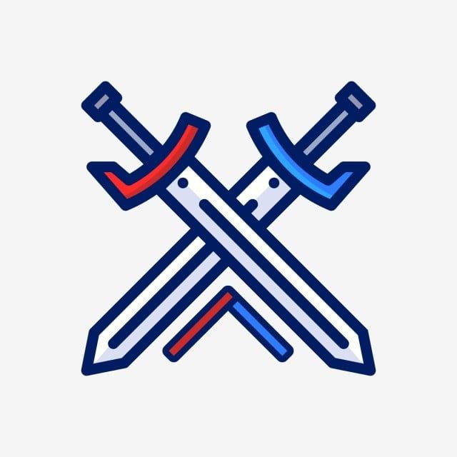 Sword Vector Logo Icon Sword Medieval Png And Vector With Transparent Background For Free Download Vector Logo Instagram Logo Youtube Logo