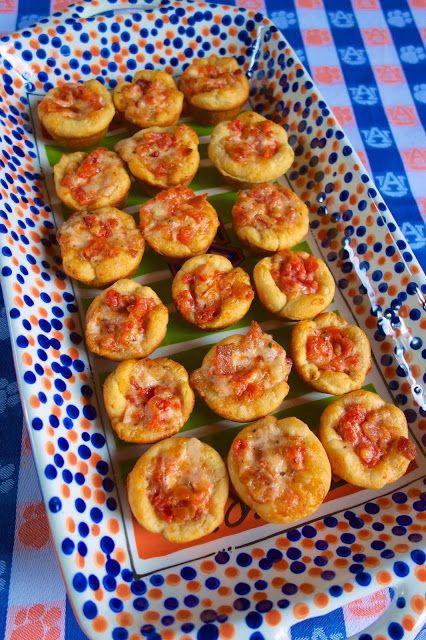 Tomato Bacon Cups {Football Friday} | Plain Chicken