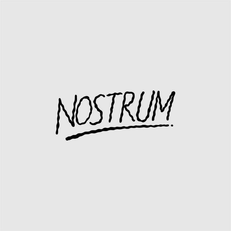 Typograf from Nostrum Supply