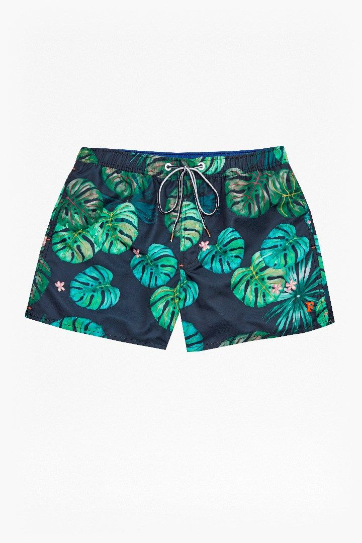 Sundowner Print Drawstring Swim Shorts | Mens Sale | French Connection Usa