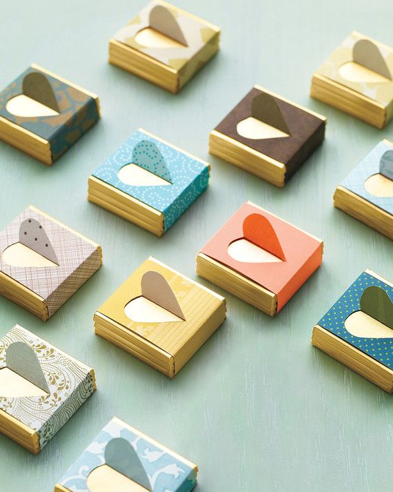 Stylishly wrapped chocolate favors are perfect for your big day. To make the…