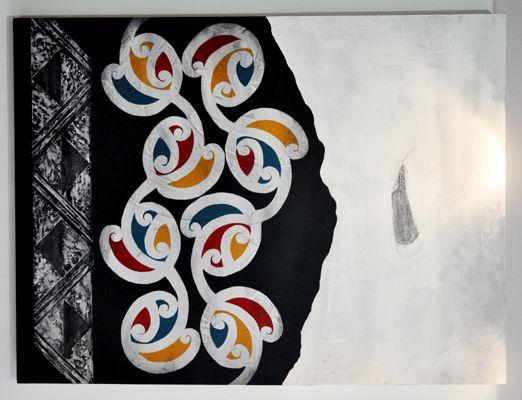 Chermene Castle Kura Gallery Maori Art Design New Zealand Painting