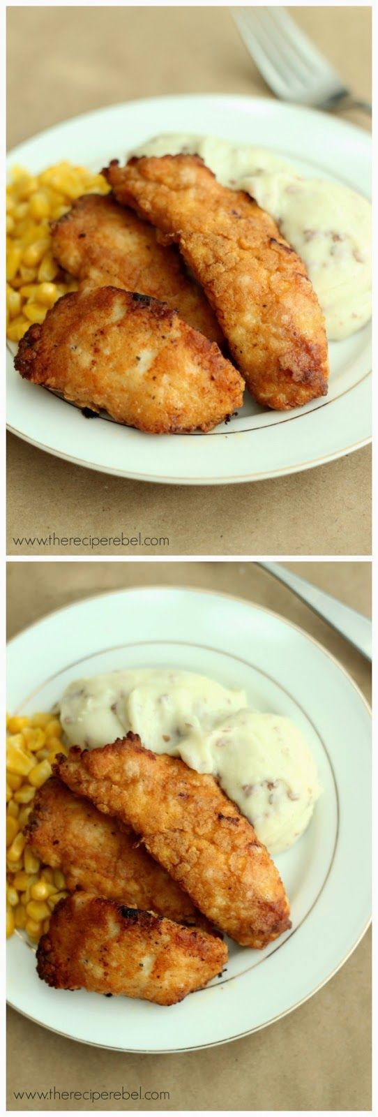 The Best Oven-Fried Chicken ~ Don't Eat Them All