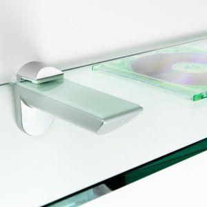 kitchen cabinet glass shelf brackets