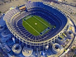 Qualcomm Stadium ... my home away from home.