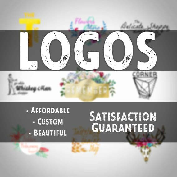 Custom Logo Design  Affordable Customized and 100%