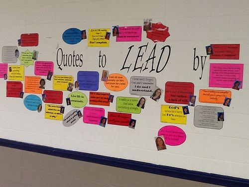 leader in me school hallways   Mrs. White's 5th Grade Class: Week 19- Think Win-Win
