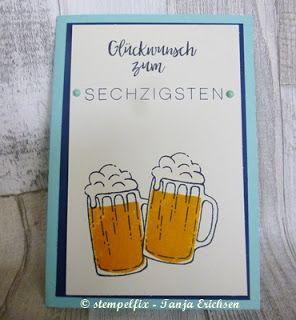 Stempelfix: ein Biergarten zum Geburtstag