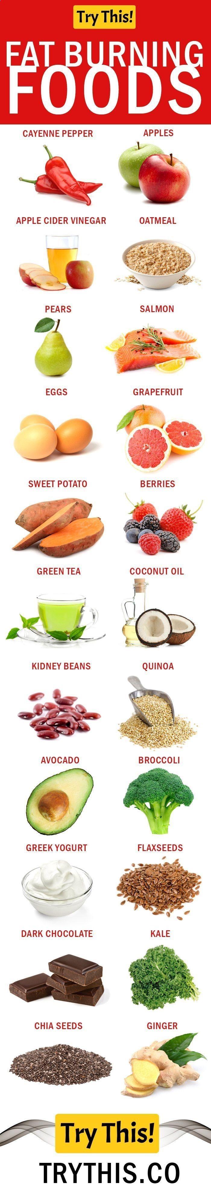 Foods That Burn Fat List